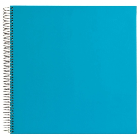 Spirálové fotoalbum FESTIVAL Spiral 29x29/30 modré