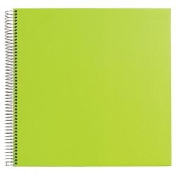 Spirálové fotoalbum FESTIVAL Spiral 29x29/30 zelené