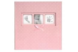Růžové dětské fotoalbum Baby Polka Dot 10x15/200F