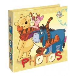 Dětské DISNEY fotoalbum 10x15/200 Medvídek Pů žluté