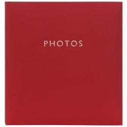Fotoalbum 10x15/200 Contemporary classic červené