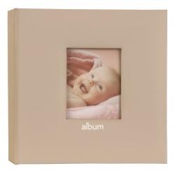 Dětské fotoalbum Love Baby 10x15/200F s popisem růžové