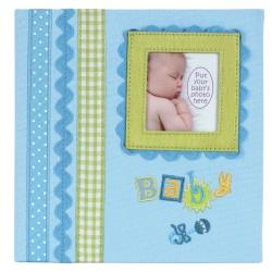 Dětské fotoalbum  Baby memories 180/10x15 modrá