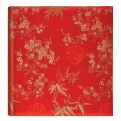 Luxusní fotoalbum Blossom 13x18/140F červené