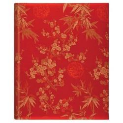 Luxusní samolepící fotoalbum 26x32,5/50s. Blossom červené