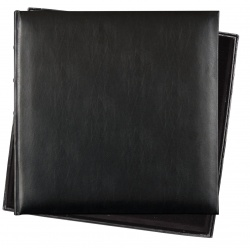 Fotoalbum 36x36/60s. Premium Bo.leather black