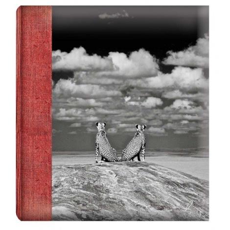 Klasické fotoalbum WILDLIFE 28x32/60s. gepardi