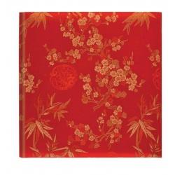 Luxusní fotoalbum 10x15/200 Blossom červené