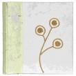 Fotoalbum 10x15/200 z ručního papíru kvety
