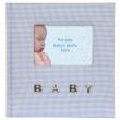 Modré dětské fotolbum 10x15/100 BABY Gingham