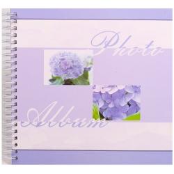 Spirálové fotoalbum na růžky SUMMER BREEZE  40 stran 30x30 modré