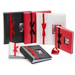 Svatební fotoalbum 10x15/200 černé GENTLE LOVE