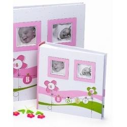 Dětské fotoalbum 10x15/200 foto LUCKY BABY růžové