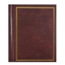 Samolepící fotoalbum 22,8x28/40s. CLASSIC hnědé