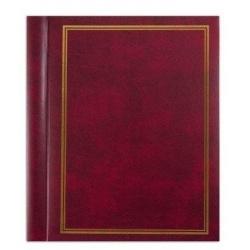 Samolepící fotoalbum 23x28/60s. CLASSIC vínové