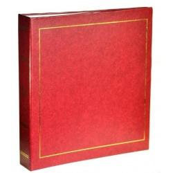 Samolepící fotoalbum 23x28cm/100stran vínové