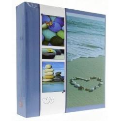 Samolepící fotoalbum 100s. WELNESS modré