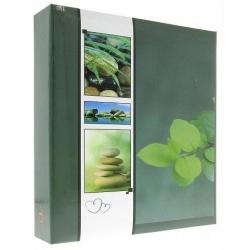 Samolepící fotoalbum 100s. WELNESS zelené