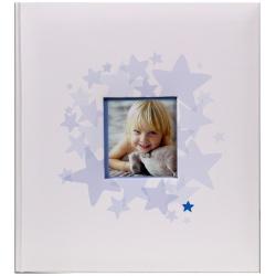 Dětské fotoalbum na růžky 29x32/60s. BABY´s MIDDLE modré