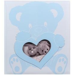 Dětské fotoalbum na růžky BABY WONDERLAND modré
