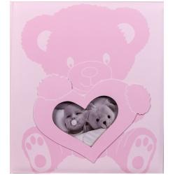 Dětské fotoalbum na růžky BABY WONDERLAND růžové