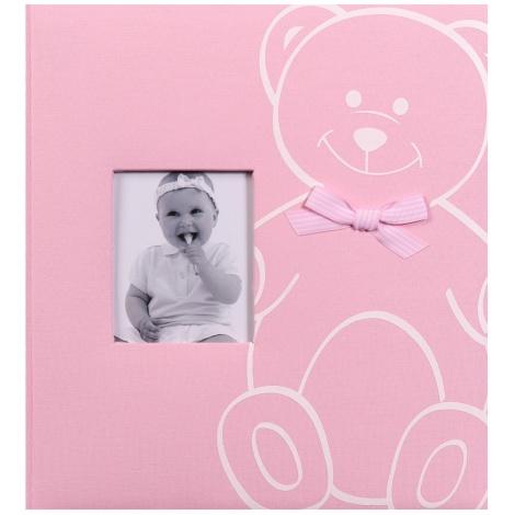 Dětské fotoalbum na růžky NEW BABY BEAR růžové