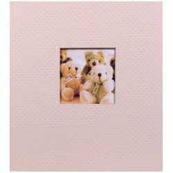 Dětské fotoalbum na růžky LOVELY TEDDY světlá