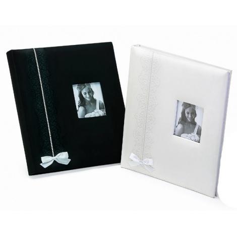 Svatební fotoalbum na růžky WEDDING FANTASY černé