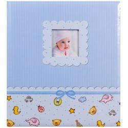 Dětské fotoalbum na růžky YOUNG BABY modré