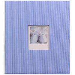 Dětské fotoalbum na růžky BAMBINIS modré