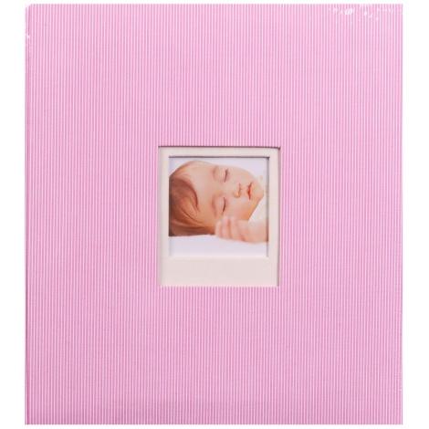 Dětské fotoalbum na růžky BAMBINIS růžové