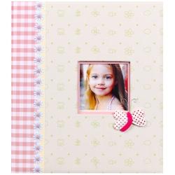 Dětské fotoalbum na růžky LES ENFANTS růžové