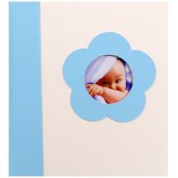 Dětské fotorůžkové album BABY´s LOOK 60s. modré