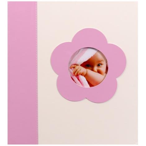 Dětské fotorůžkové album BABY´s LOOK 60s. růžové