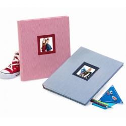 Dětské fotoalbum na růžky CLASSICO modré