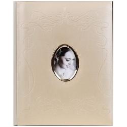 Svatební fotoalbum na růžky 22x27/40s. KONF zlaté