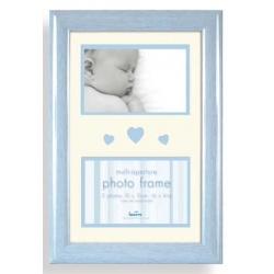 Dětský fotorámeček BABY BRIGHTS 2x10x15cm modrý