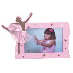 Dětský fotorámeček BABY BALERINA 15x10 růžová