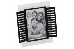 Bílý fotorámeček 13x18 WINDOW
