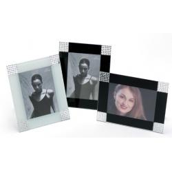 Exkluzivní fotorámeček BERGAMO 13x18 černý