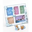 Dětský polyresin rámeček BABY GALLERY modrý