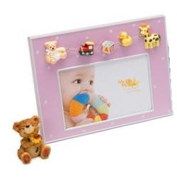 Dětsý fotorámeček DARLING 15x10 růžový