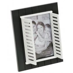 Černý fotorámeček 13x18 WINDOW