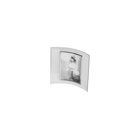Skleněný fotorámeček VERONA 13x18 stříbrný