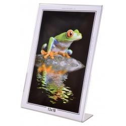 Akrylový fotorámeček KARPEX 13x18cm výška