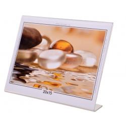 Akrylový fotorámeček KARPEX 20x15cm šířka