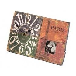 Světlé fotohodiny Paris 30x18,2cm