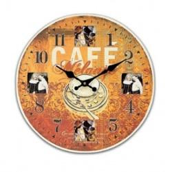 Fotohodiny 34x34cm Café