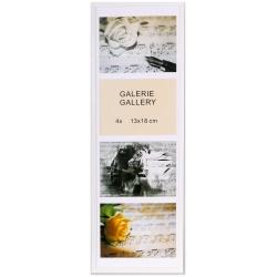 GALERIE TIMELESS 4 foto 13x18 bílá