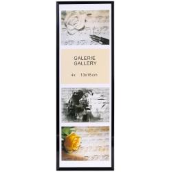 GALERIE TIMELESS 4 foto 13x18 černá
